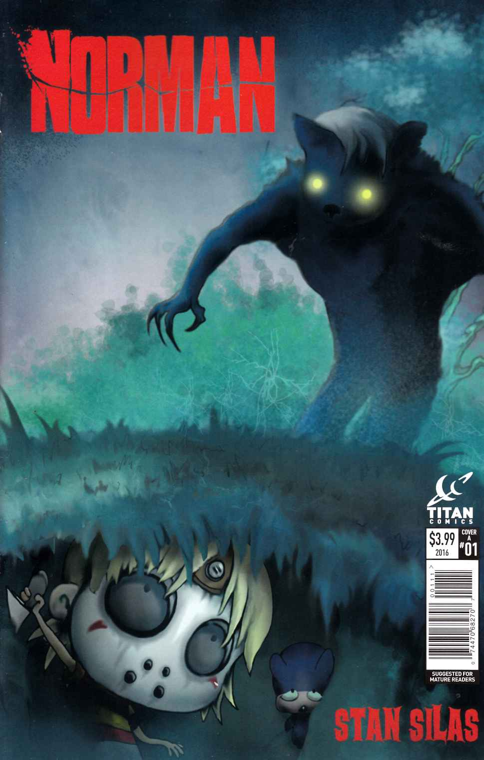 Norman #1 Cover A Near Mint (9.4) [Titan Comic] THUMBNAIL