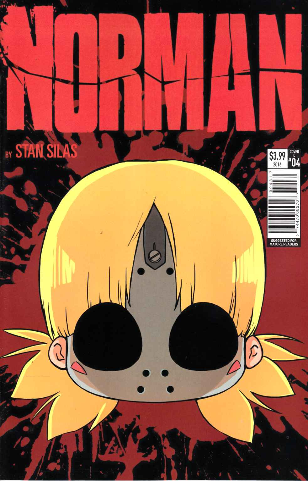Norman #4 Cover C [Titan Comic] THUMBNAIL