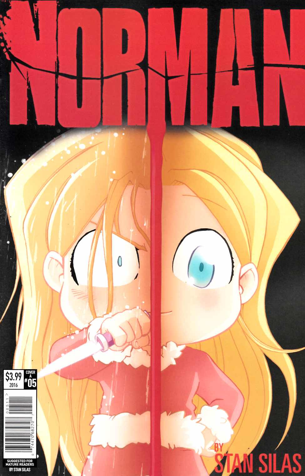 Norman #5 Cover A [Titan Comic]