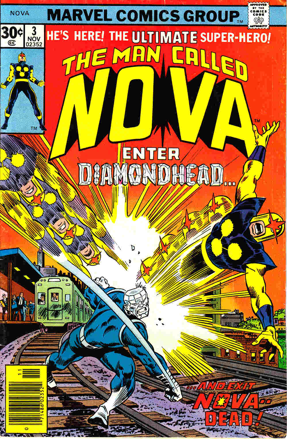 Nova #3 Fine (6.0) [Marvel Comic] THUMBNAIL