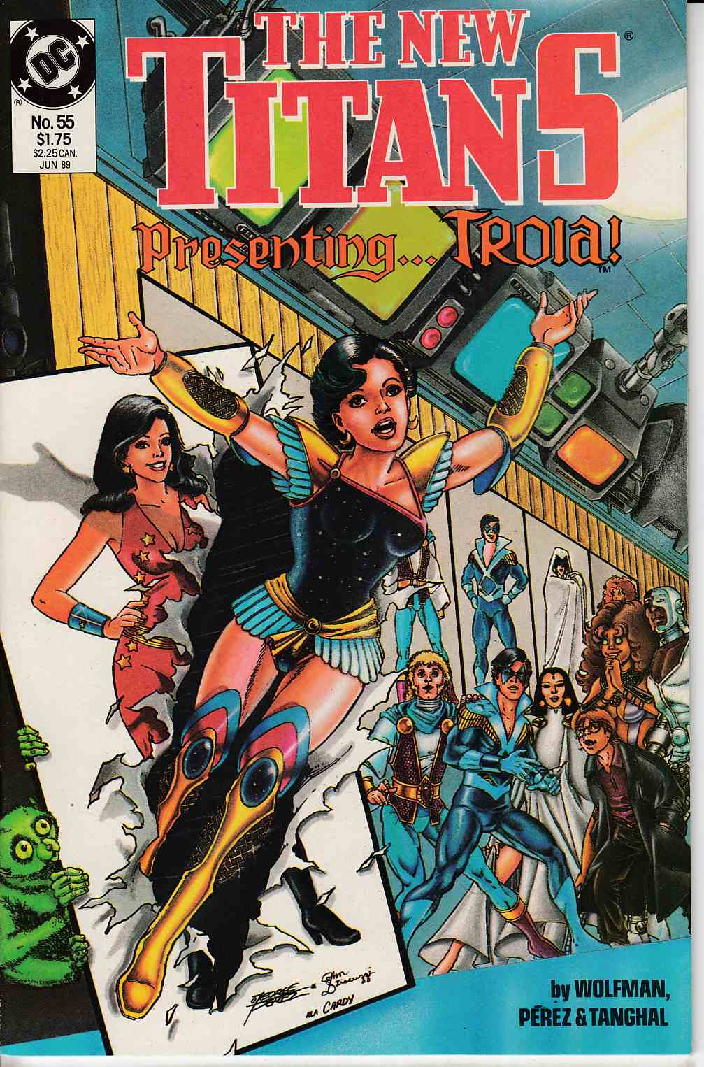 New Teen Titans #55 Near Mint (9.4) [DC Comic]_LARGE