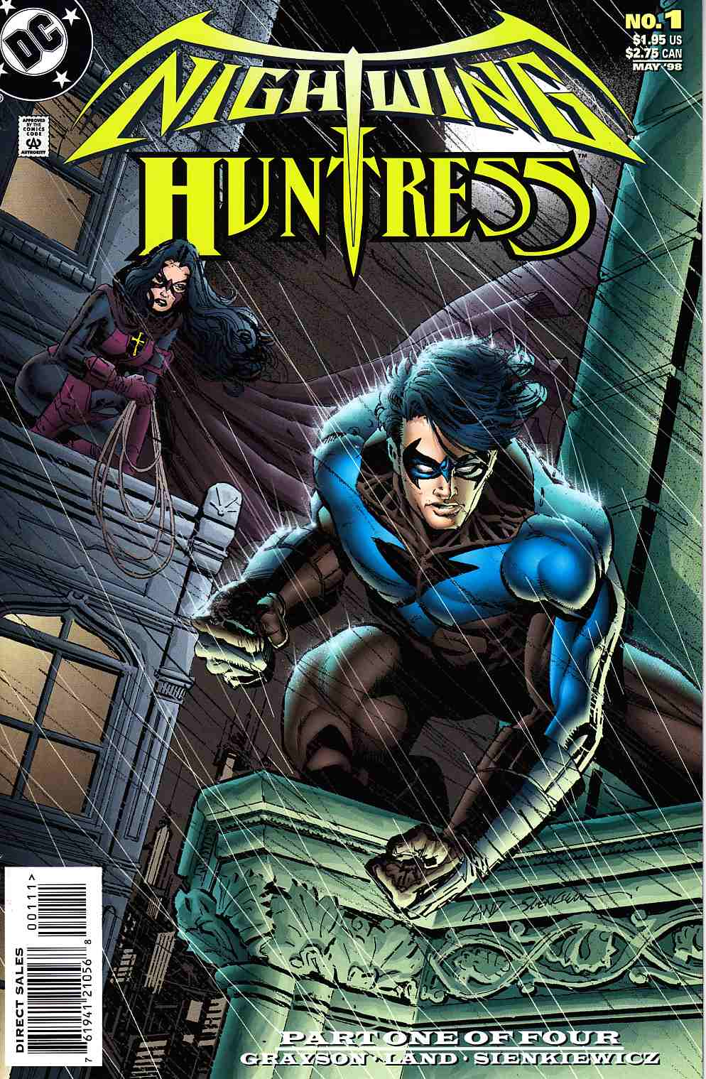 Nightwing And Huntress #1 [DC Comic]_THUMBNAIL
