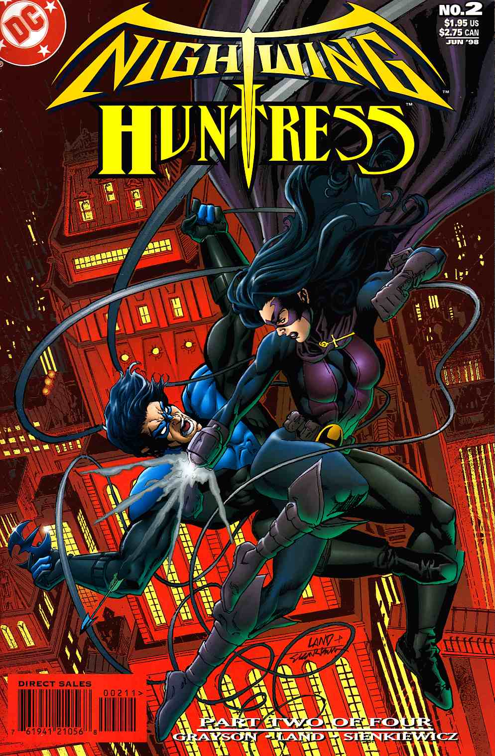 Nightwing And Huntress #2 [DC Comic]_THUMBNAIL