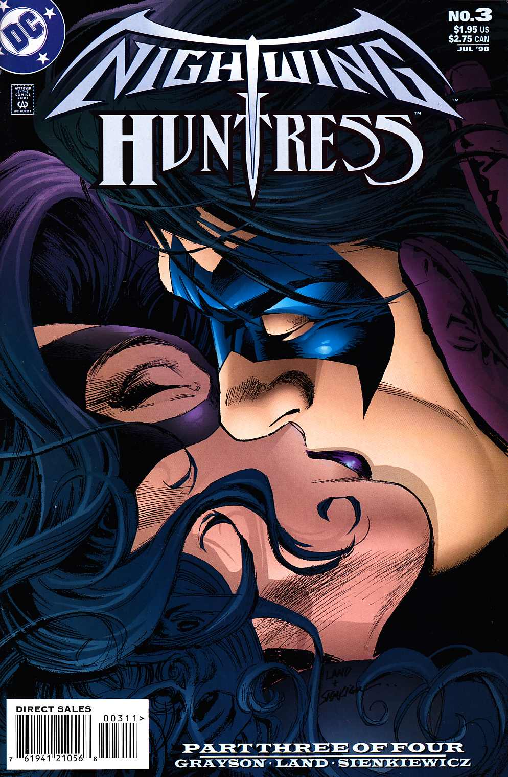 Nightwing And Huntress #3 [DC Comic]_THUMBNAIL