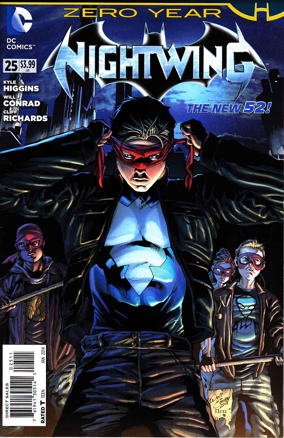 Nightwing #25 (Zero Year) [DC Comic] THUMBNAIL