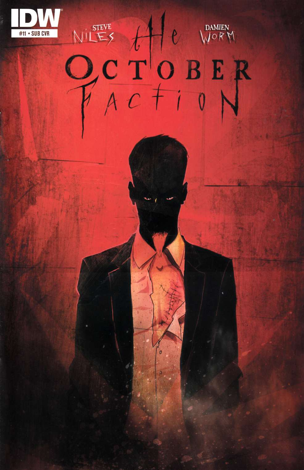 October Faction #11 Subscription Cover [IDW Comic] THUMBNAIL