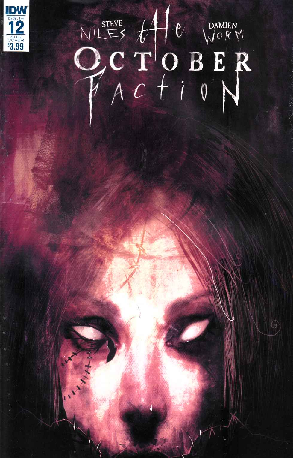 October Faction #12 Subscription Cover [IDW Comic] THUMBNAIL