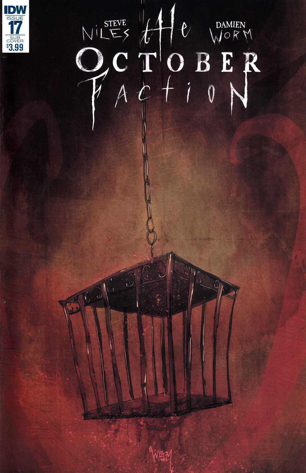 October Faction #17 Subscription Cover [IDW Comic] THUMBNAIL