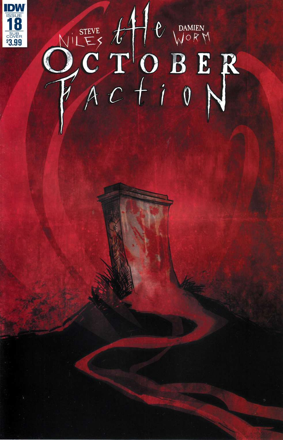 October Faction #18 Subscription Cover [IDW Comic] THUMBNAIL