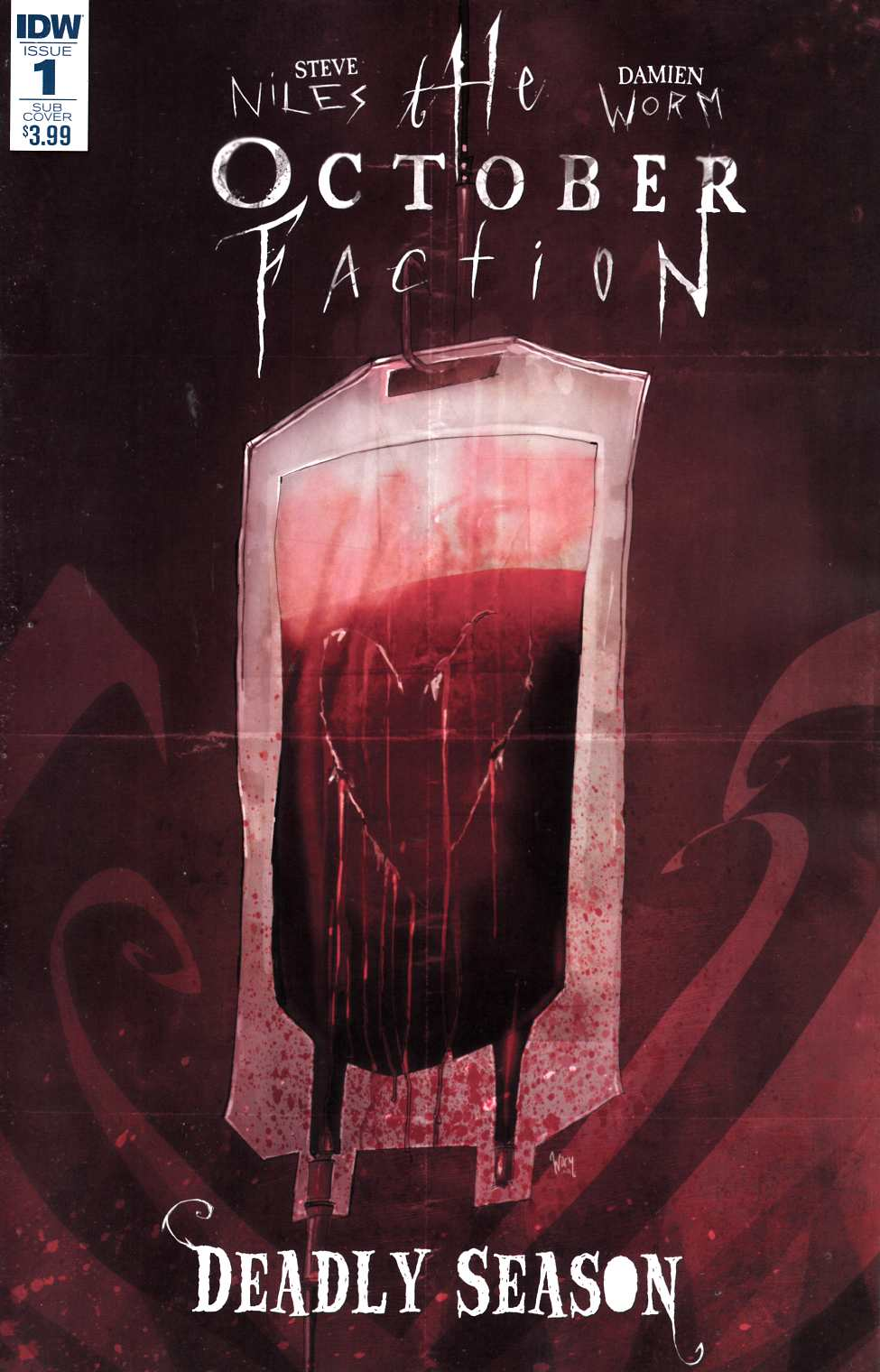 October Faction Deadly Season #1 Subscription Cover [IDW Comic] THUMBNAIL