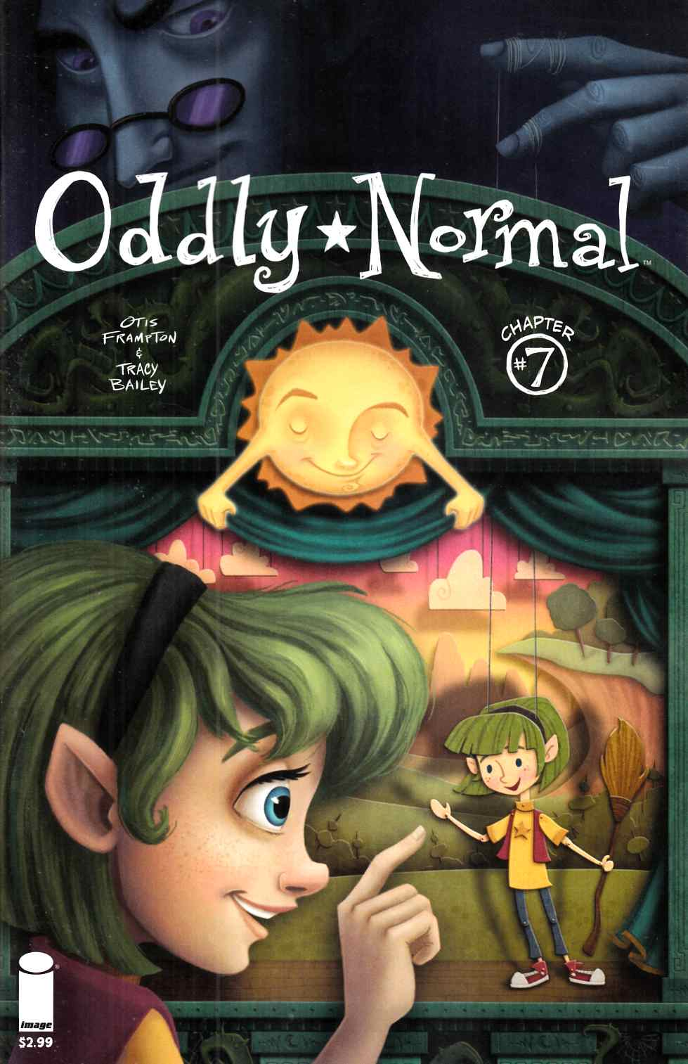 Oddly Normal #7 Cover B- Roos [Image Comic] THUMBNAIL