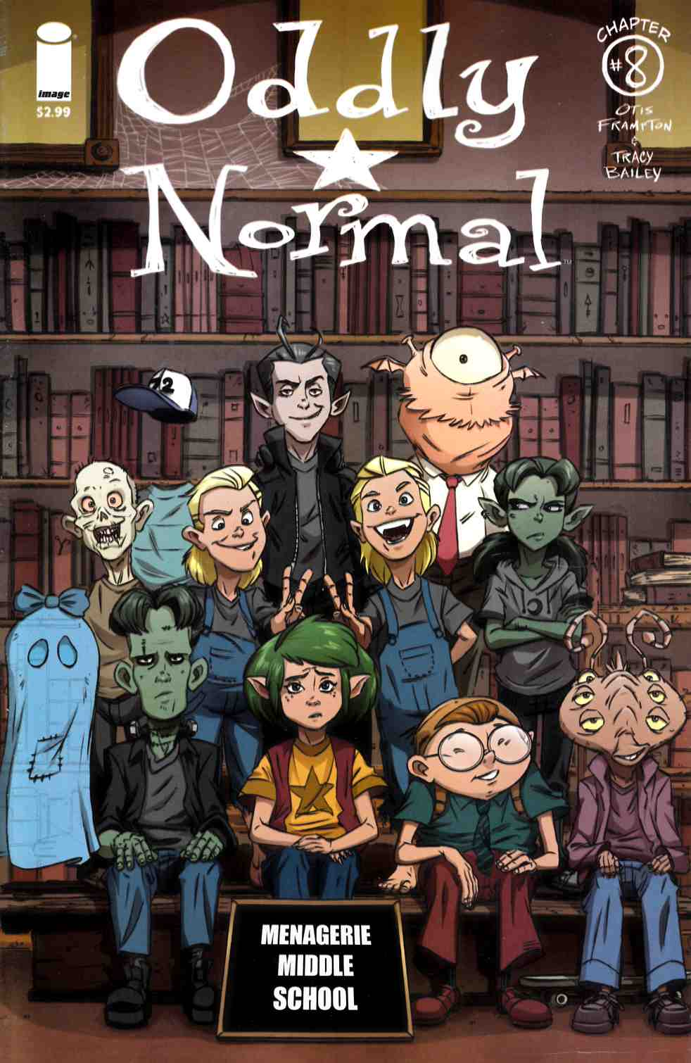 Oddly Normal #8 Cover B- Schoening [Image Comic]