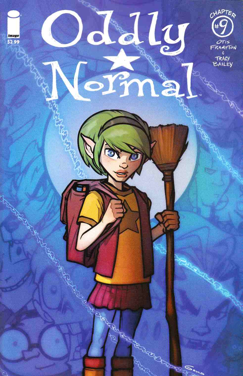 Oddly Normal #9 Cover B- Gould [Image Comic] THUMBNAIL