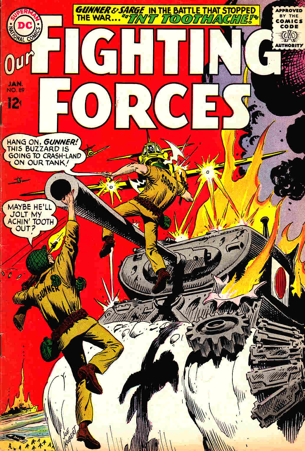 Our Fighting Forces #89 [DC Comic] THUMBNAIL