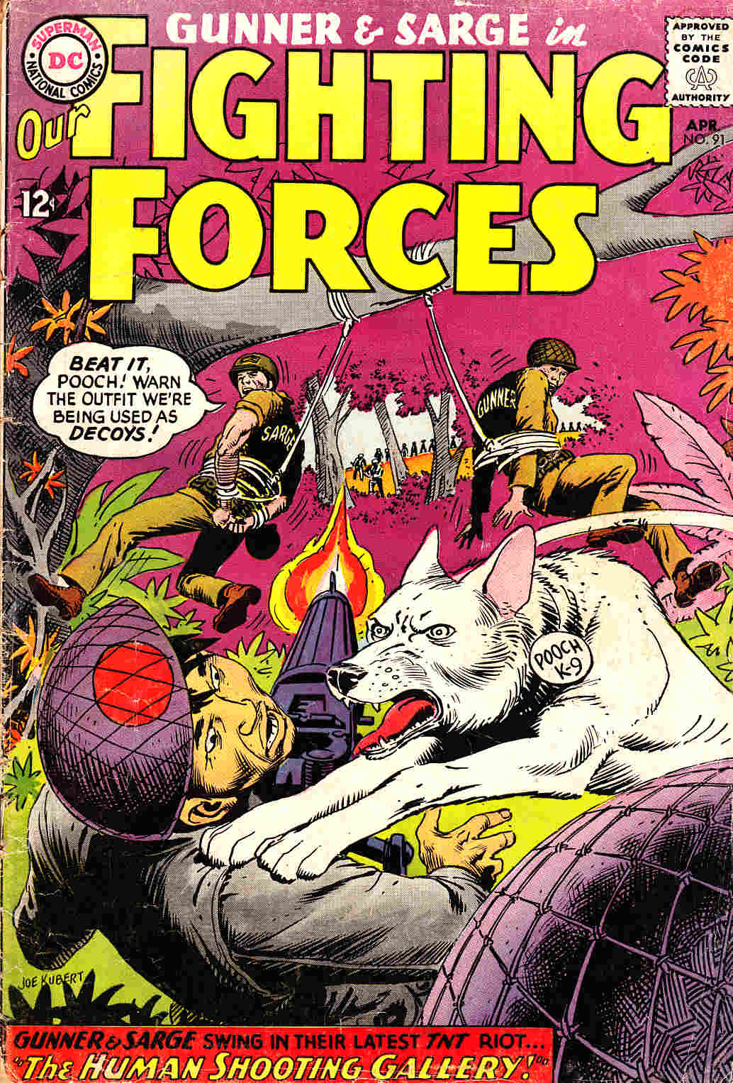 Our Fighting Forces #91 [DC Comic] THUMBNAIL