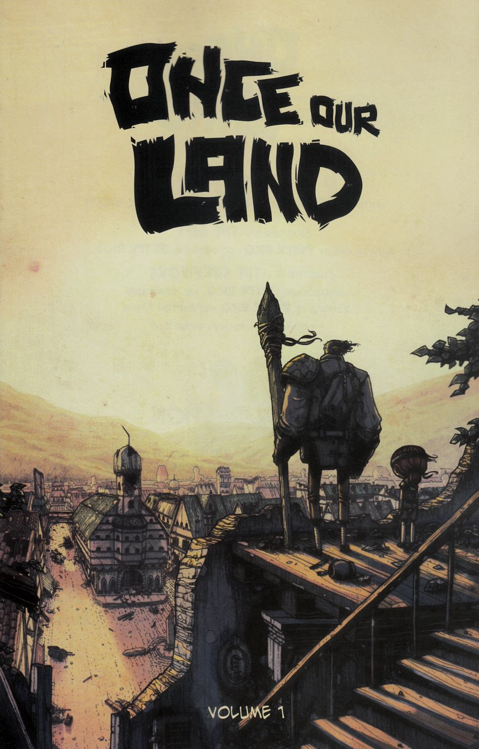 Once Our Land #1 Near Mint (9.4) [Scout Comic] LARGE