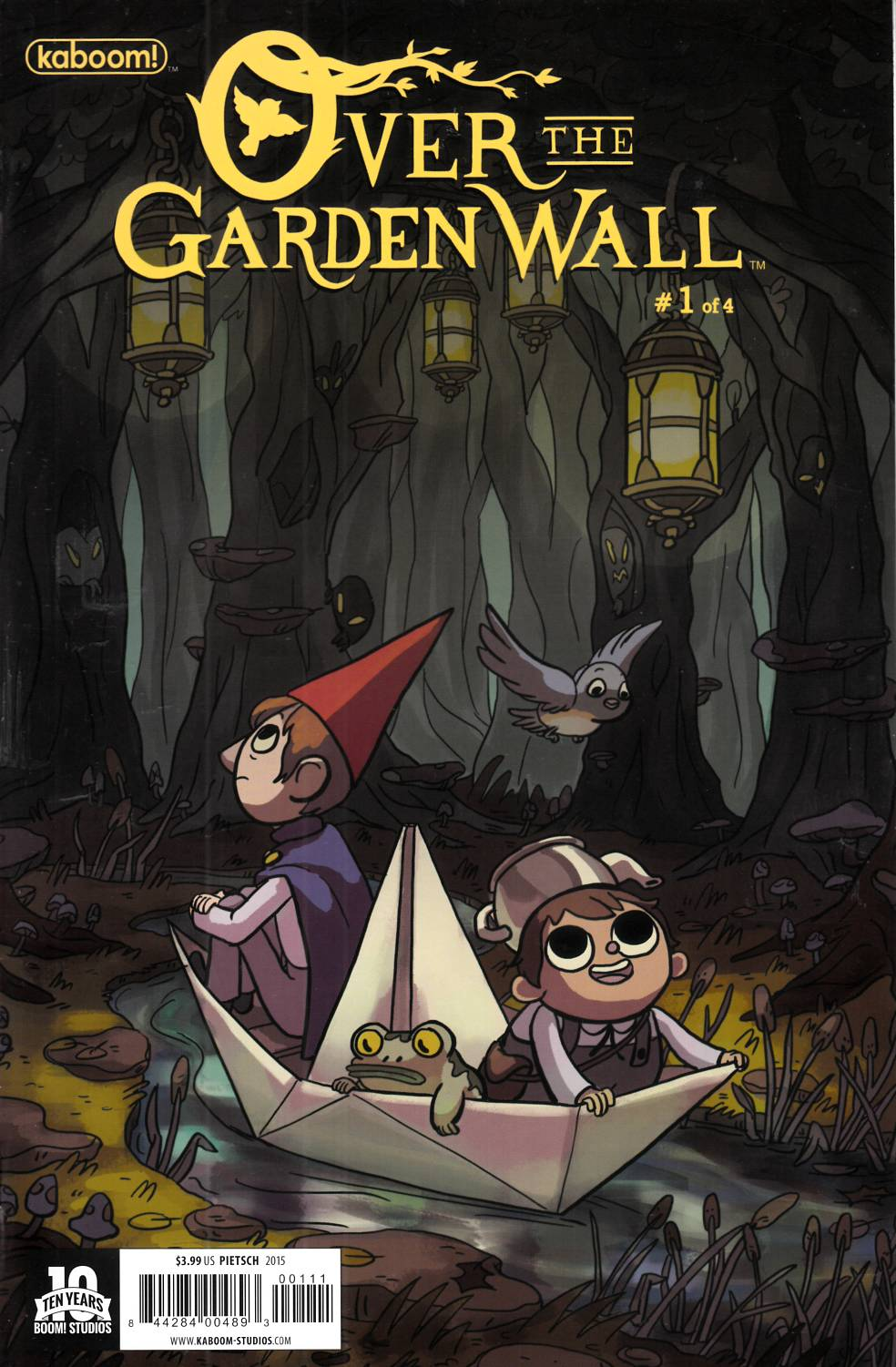 Over the Garden Wall #1 Pietsch Cover Near Mint (9.4) [Boom Comic] THUMBNAIL