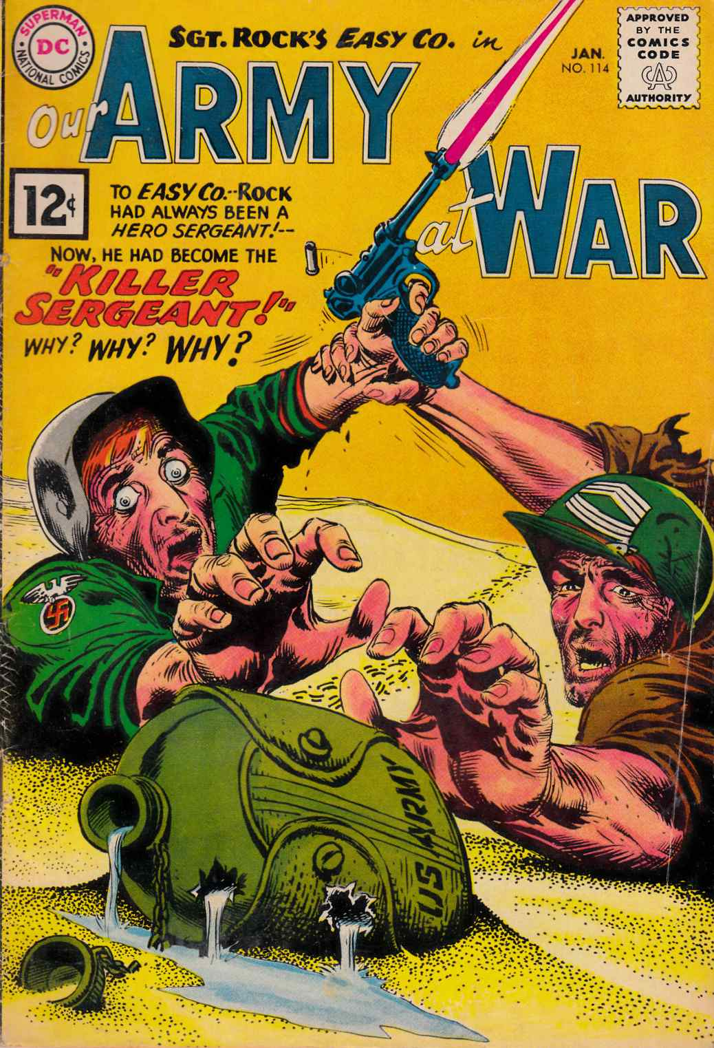 Our Army at War #114 [DC Comic]_THUMBNAIL