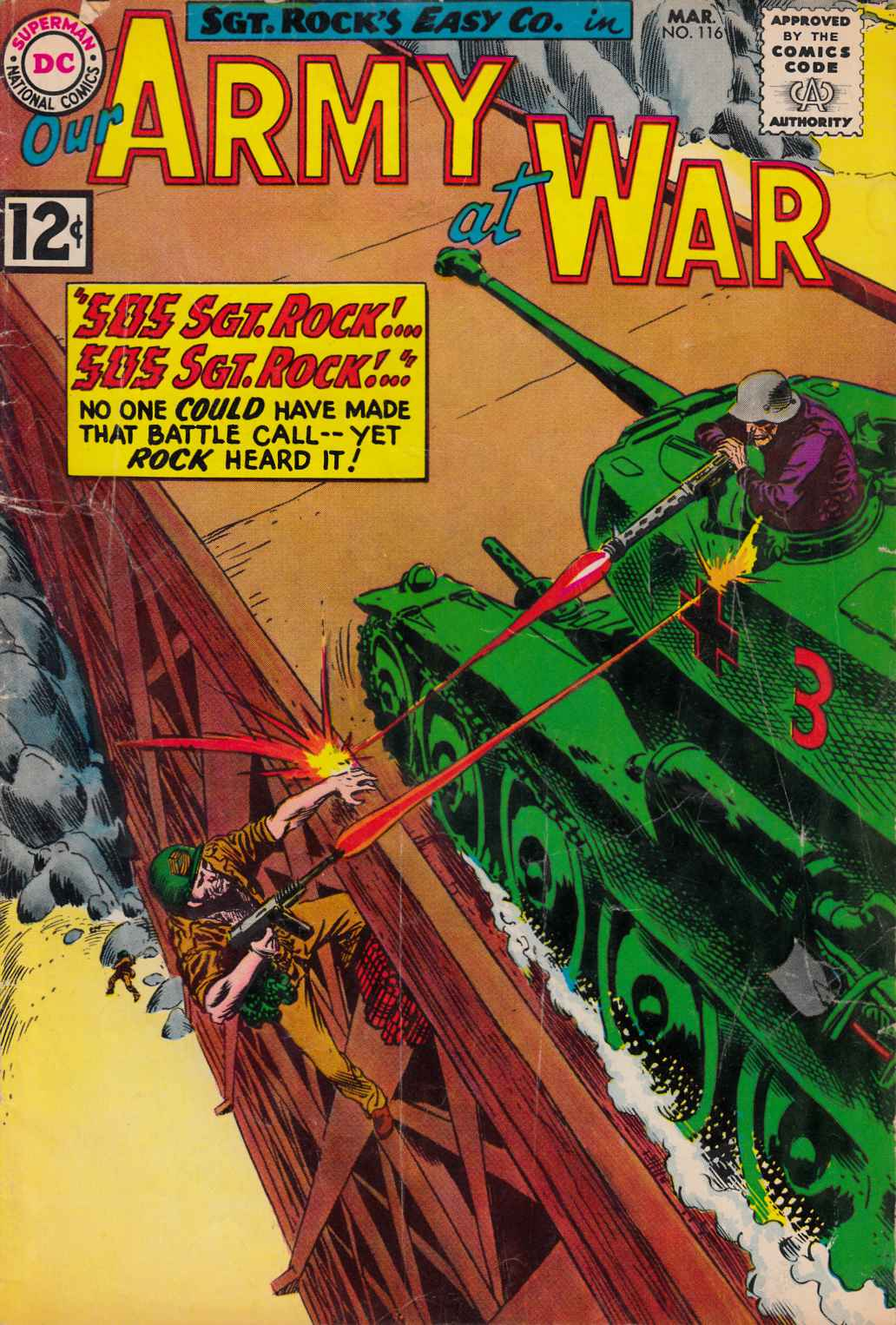 Our Army at War #116 [DC Comic]_THUMBNAIL