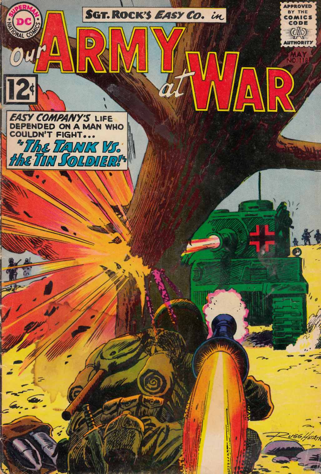 Our Army at War #118 [DC Comic]_THUMBNAIL