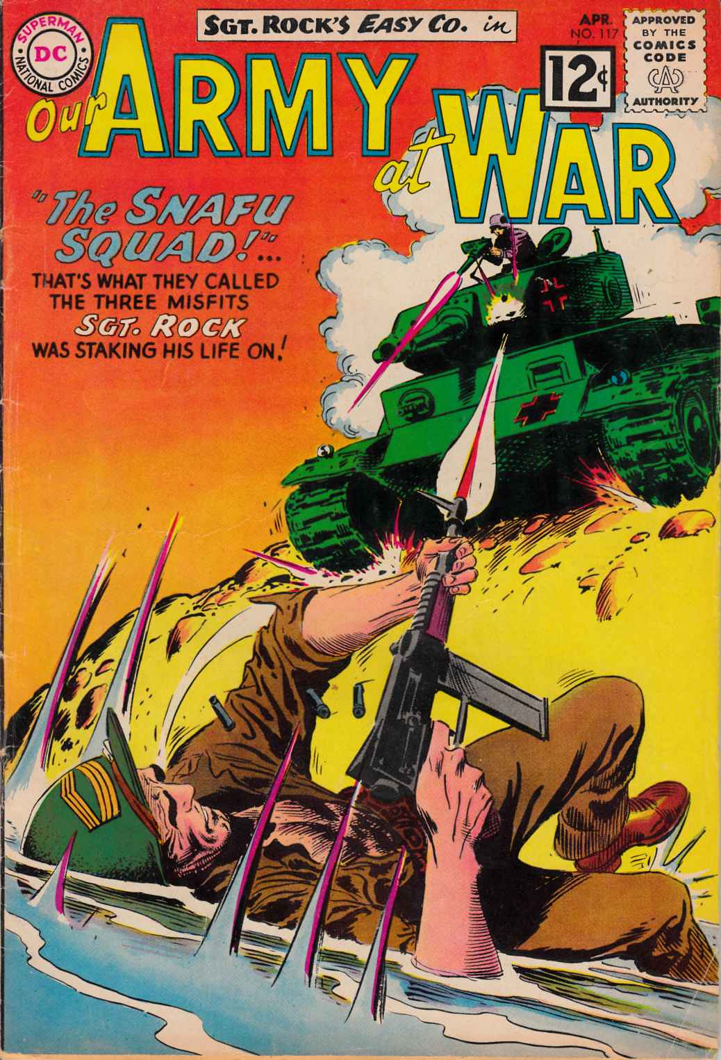 Our Army at War #117 [DC Comic]_THUMBNAIL