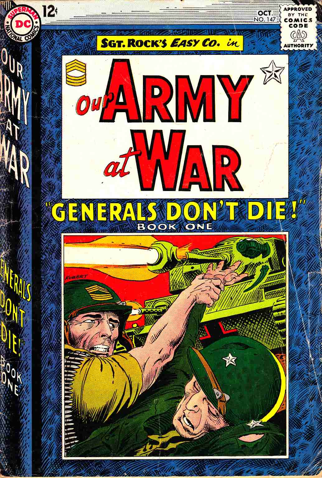 Our Army at War #147 [DC Comic]_THUMBNAIL