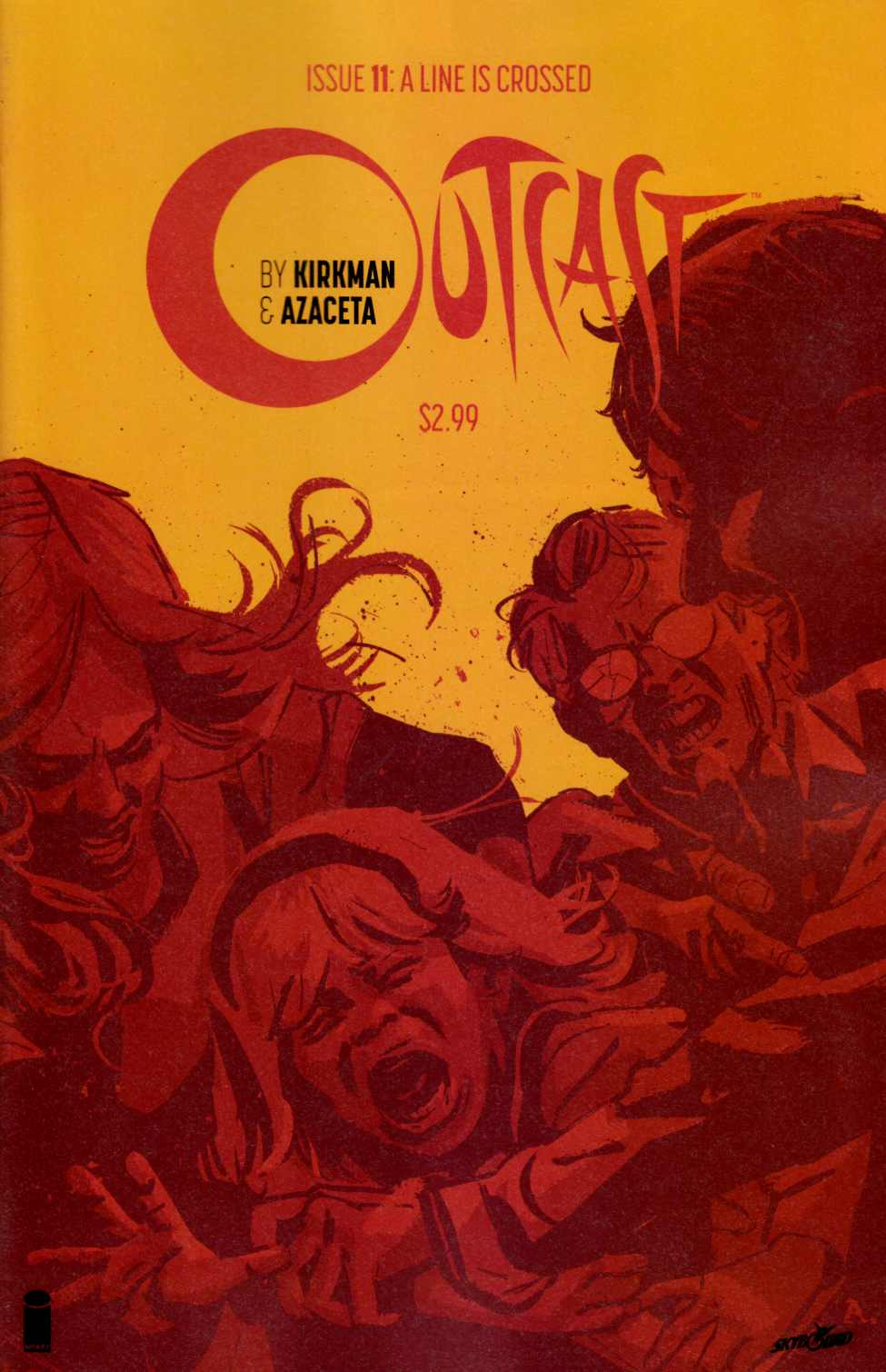 Outcast By Kirkman & Azaceta #11 Near Mint (9.4) [Image Comic] THUMBNAIL