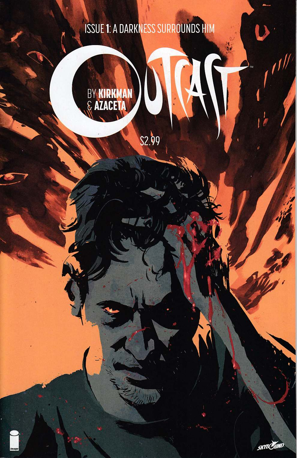 Outcast By Kirkman & Azaceta #1 Very Fine Minus (7.5) [Image Comic] THUMBNAIL