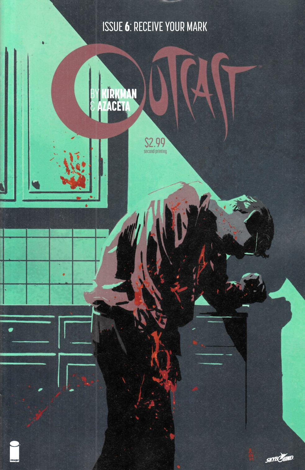 Outcast By Kirkman & Azaceta #6 Second Printing [Image Comic] THUMBNAIL