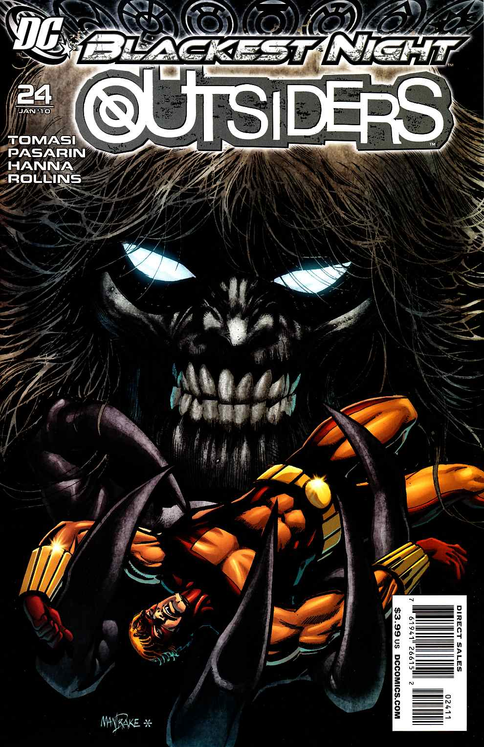 Outsiders #24 [DC Comic] LARGE