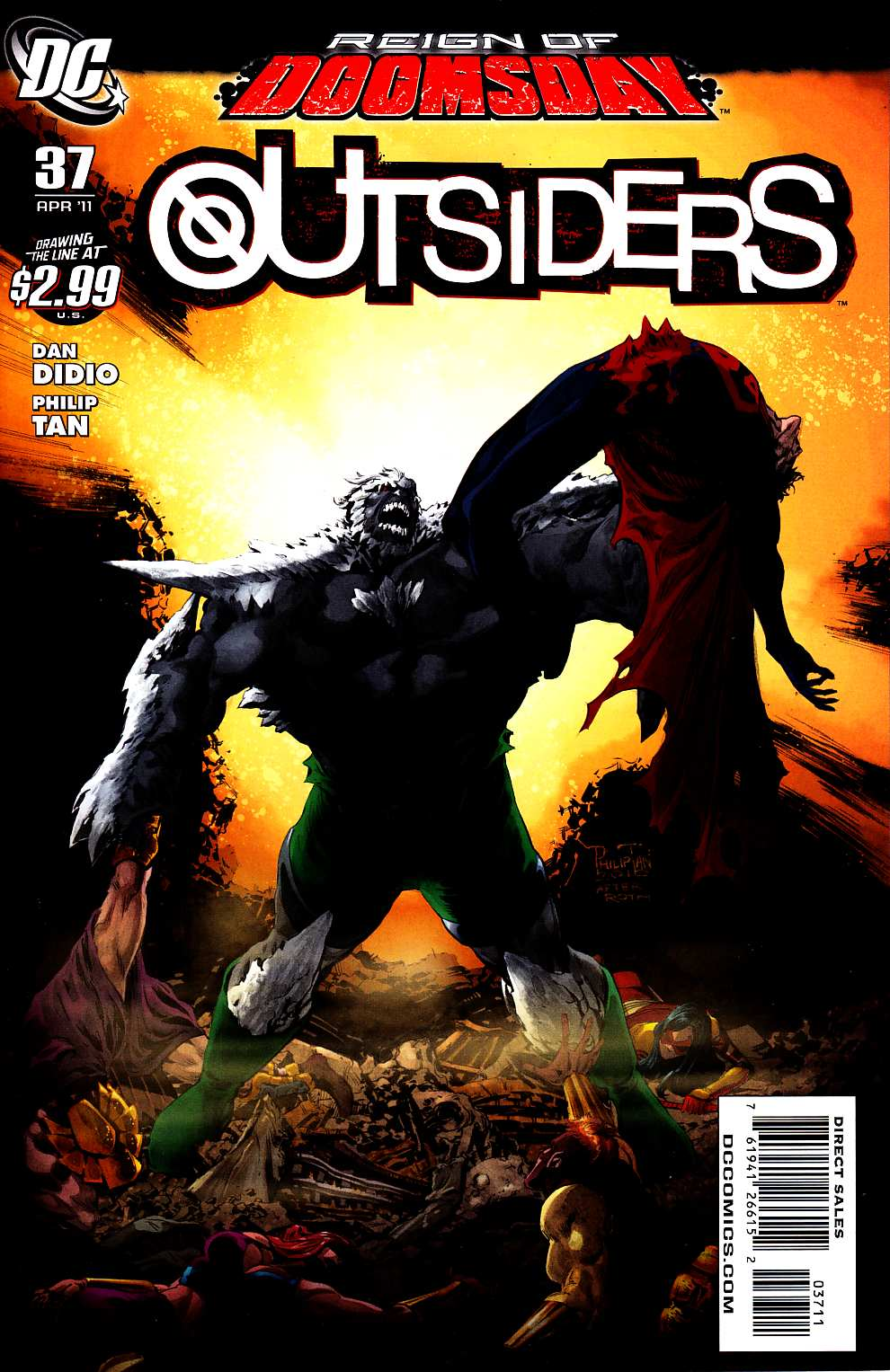 Outsiders #37 Near Mint (9.4) [DC Comic] THUMBNAIL