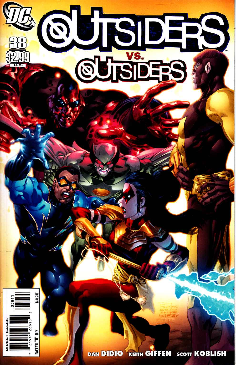 Outsiders #38 [DC Comic] LARGE