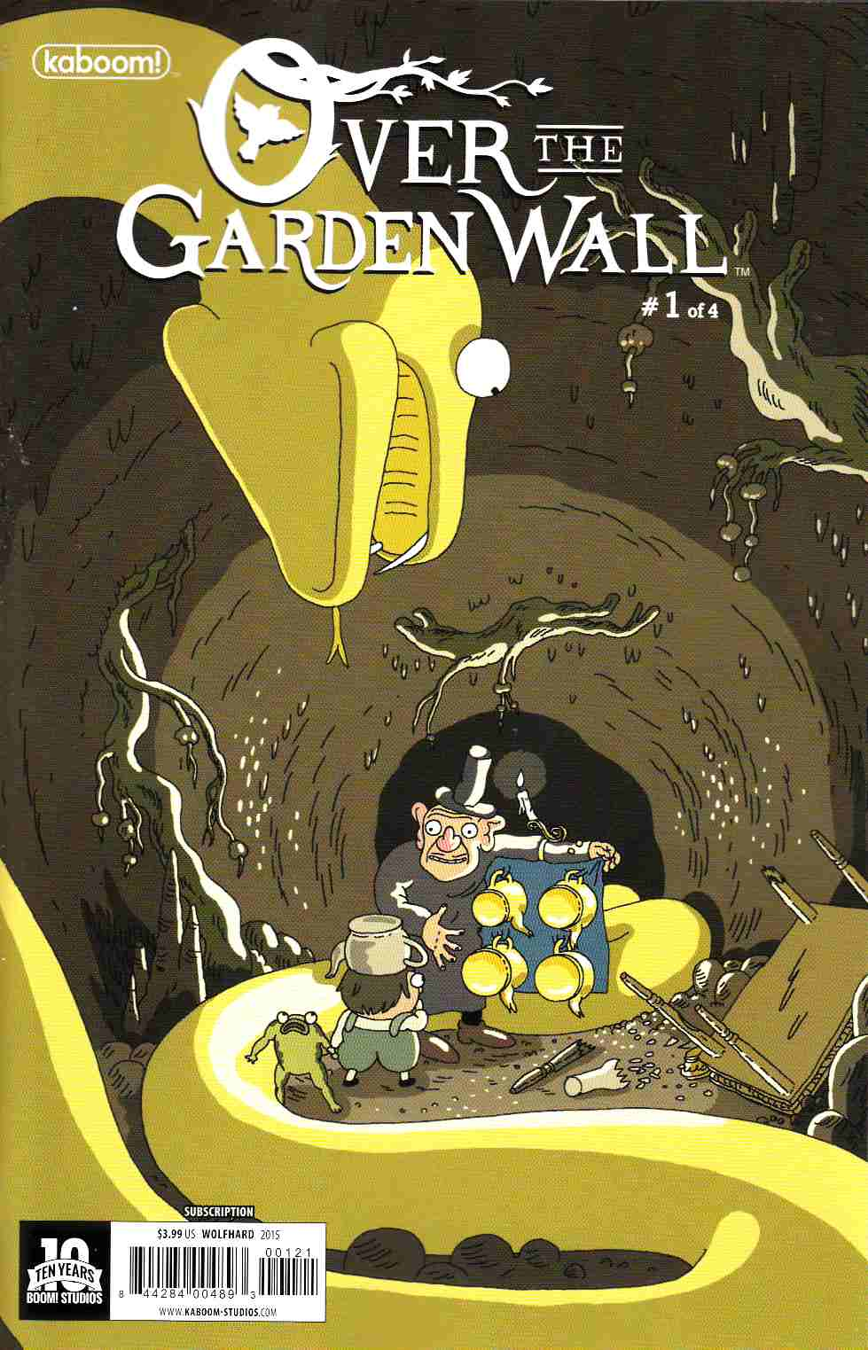 Over the Garden Wall #1 Subcription Wolfhard Cover [Boom Comic] THUMBNAIL