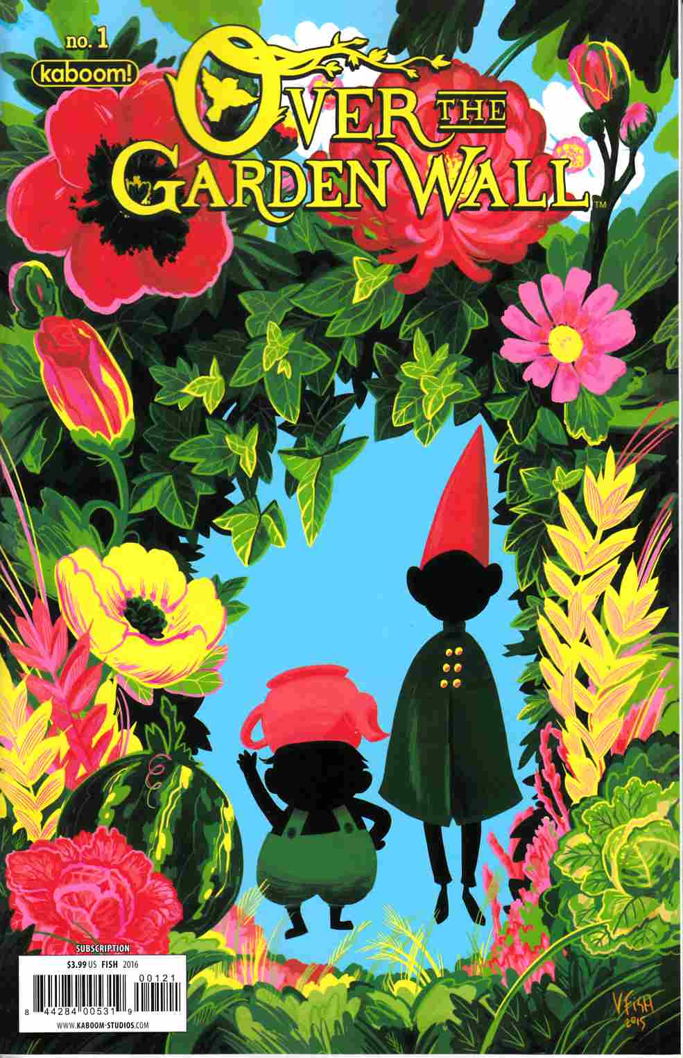 Over The Garden Wall Ongoing #1 Subcription Cover [Boom Comic] THUMBNAIL