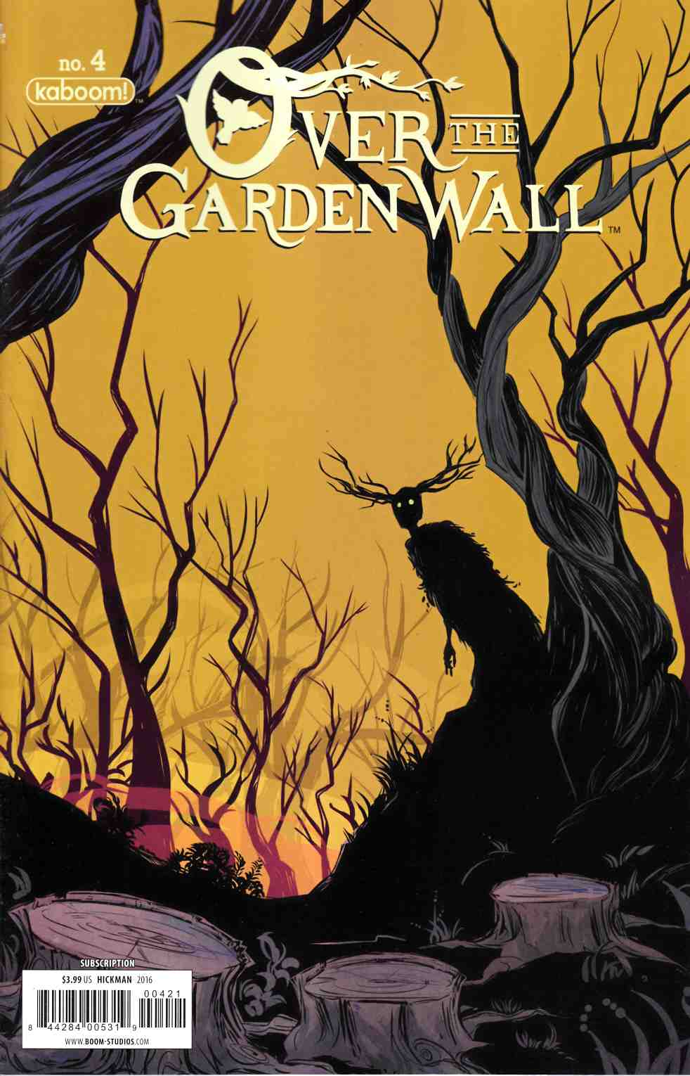 Over Garden Wall #4 Subscription Cover [Boom Comic] THUMBNAIL