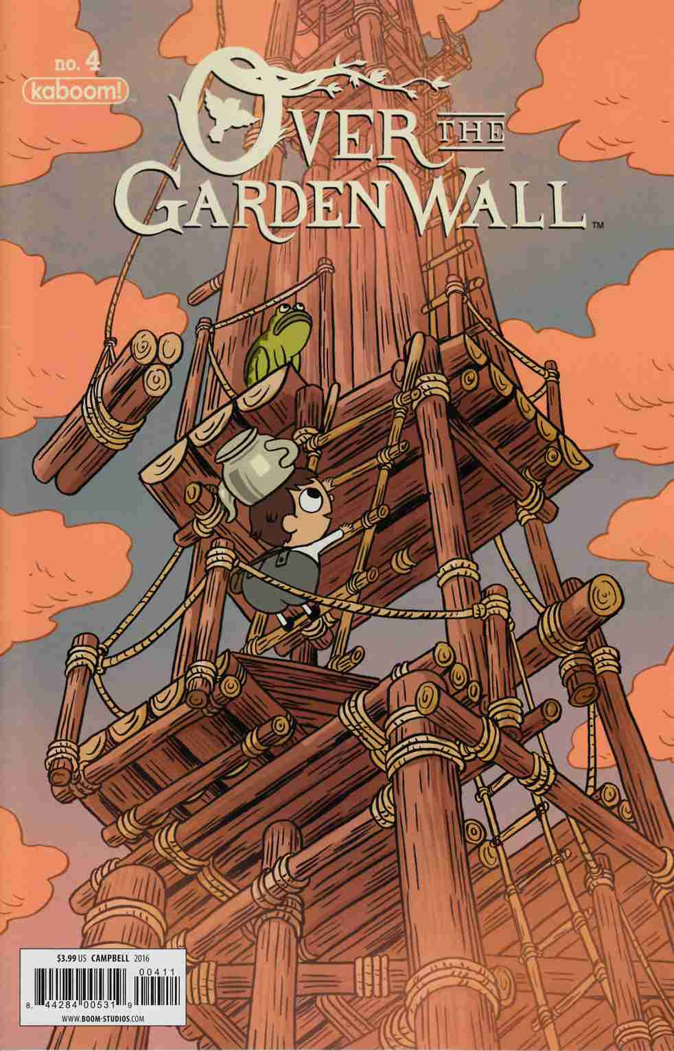 Over Garden Wall #4 [Boom Comic] THUMBNAIL