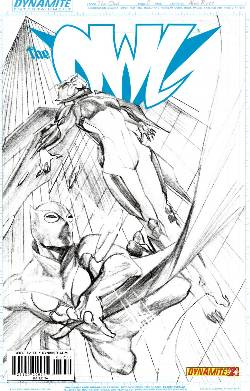 Owl #2 Ross B&W Incentive Cover [Comic] LARGE