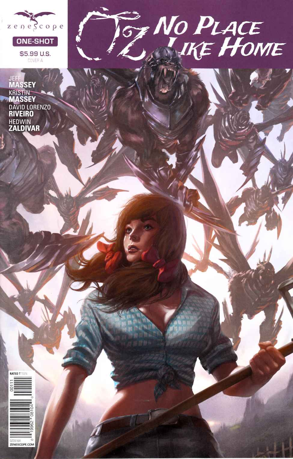 GFT Oz No Place Like Home #1 Cover A- Wimberly [Zenescope Comic] THUMBNAIL