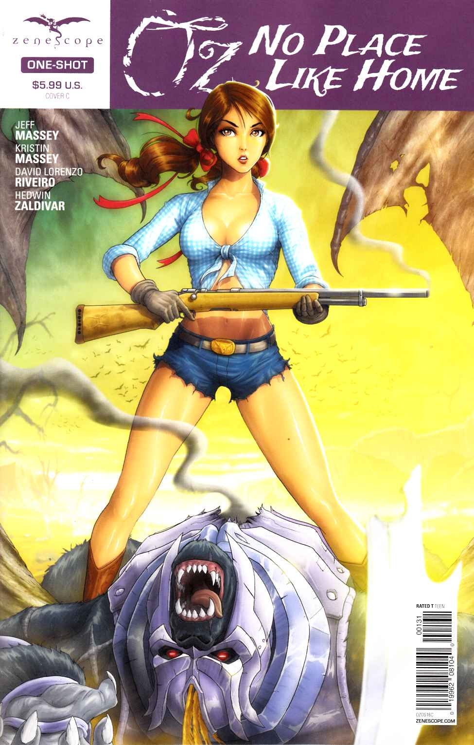 GFT Oz No Place Like Home #1 Cover C- Cardy [Zenescope Comic] THUMBNAIL