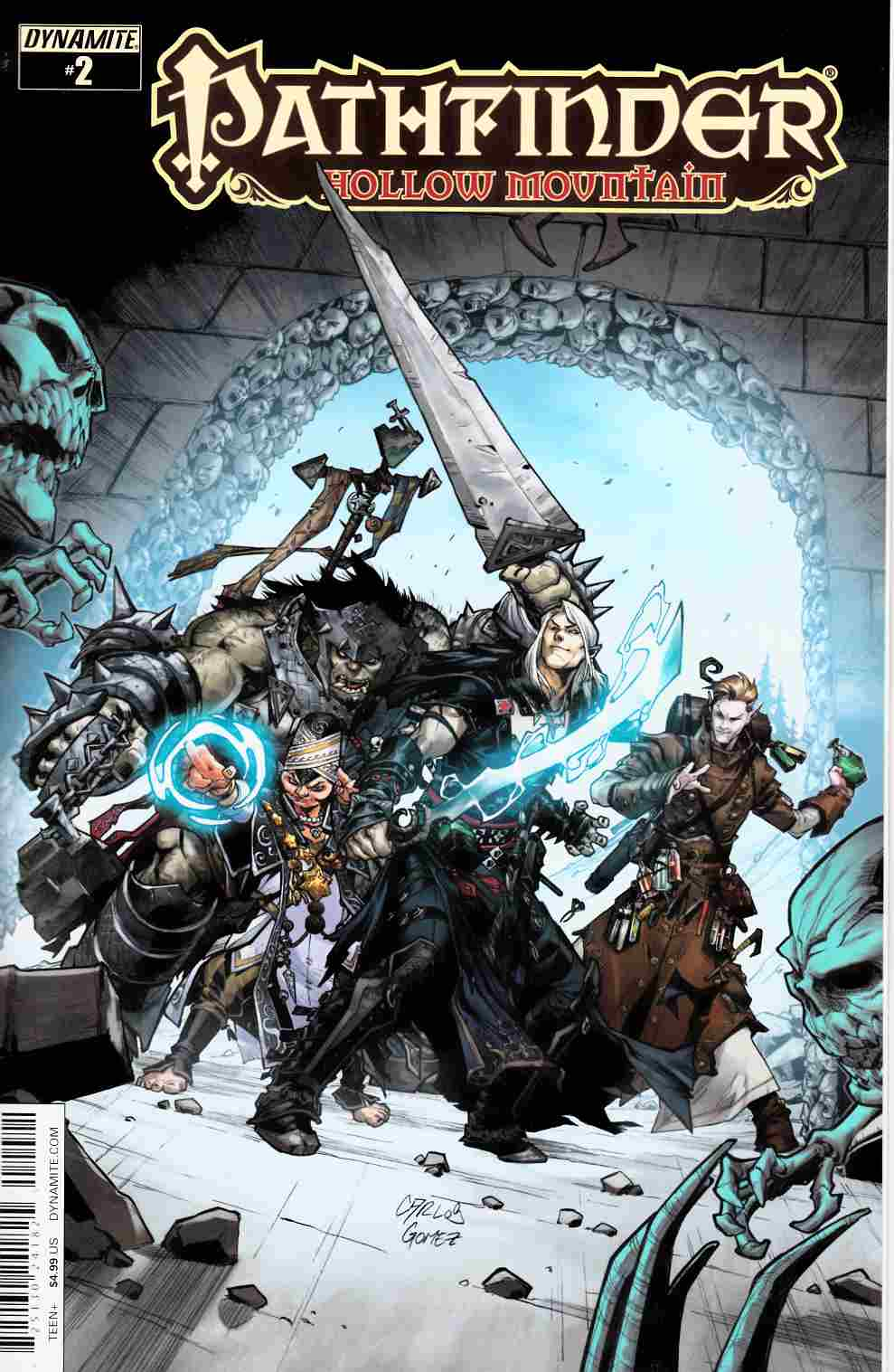 Pathfinder Hollow Mountain #2 Cover B- Gomez [Dynamite Comic]_THUMBNAIL