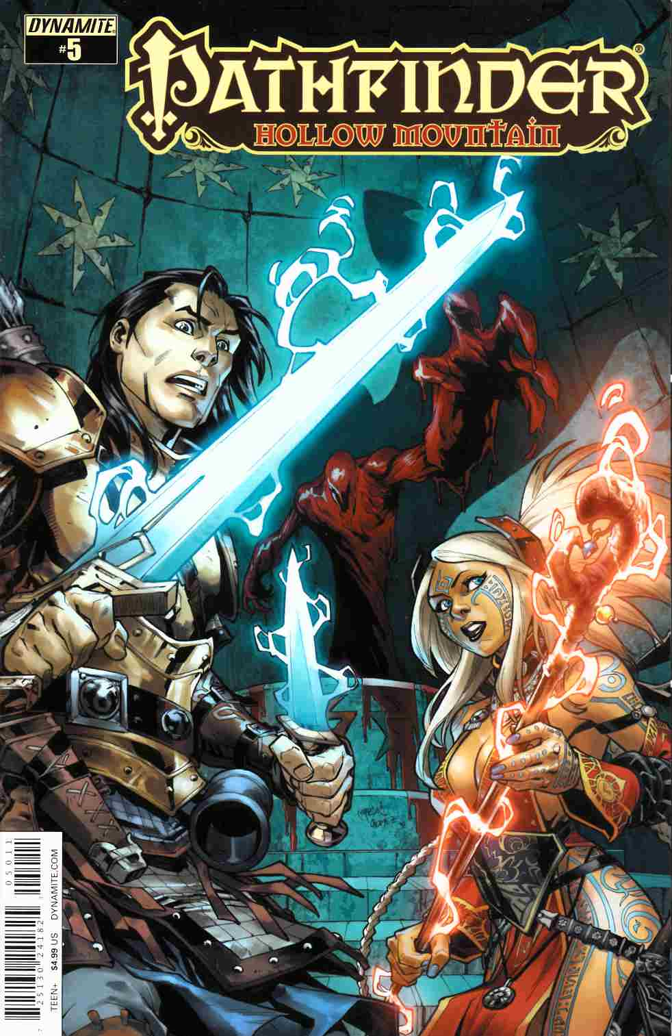 Pathfinder Hollow Mountain #5 Cover A [Dynamite Comic] THUMBNAIL