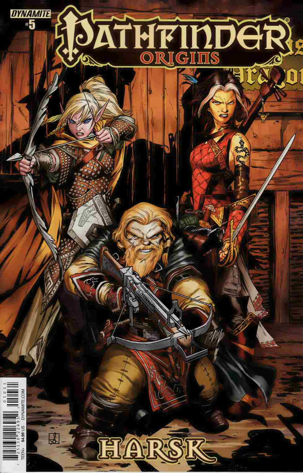 Pathfinder Origins #5 Cover C- Subscription [Dynamite Comic] THUMBNAIL