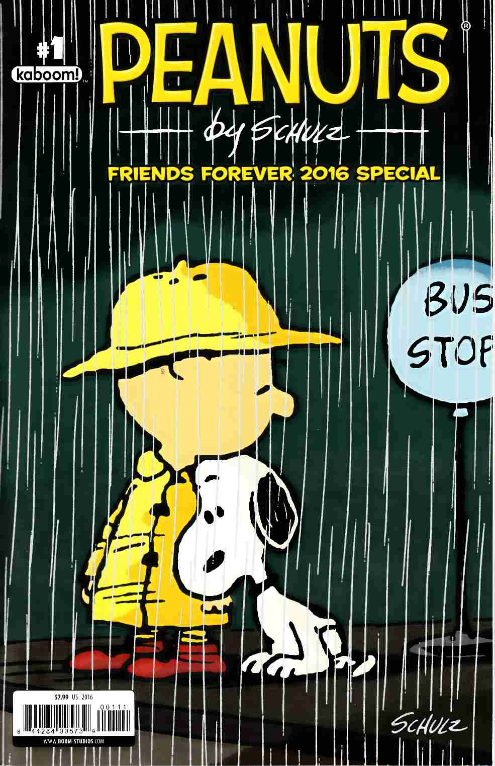 Peanuts Friends Forever 2016 Special #1 [Boom Comic] THUMBNAIL
