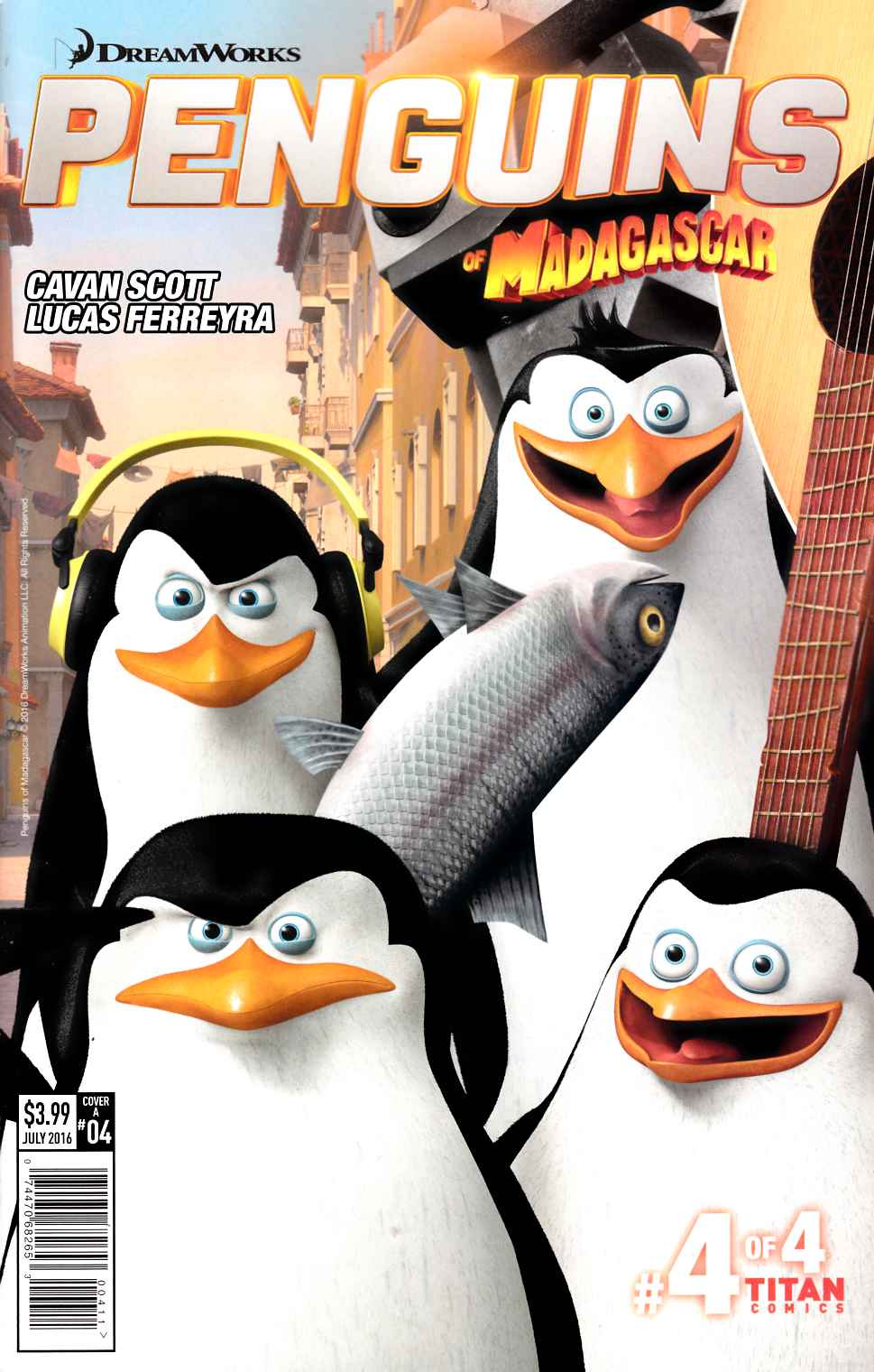 Penguins of Madagascar Elitest of Elite #4 Cover A [Titan Comic] THUMBNAIL
