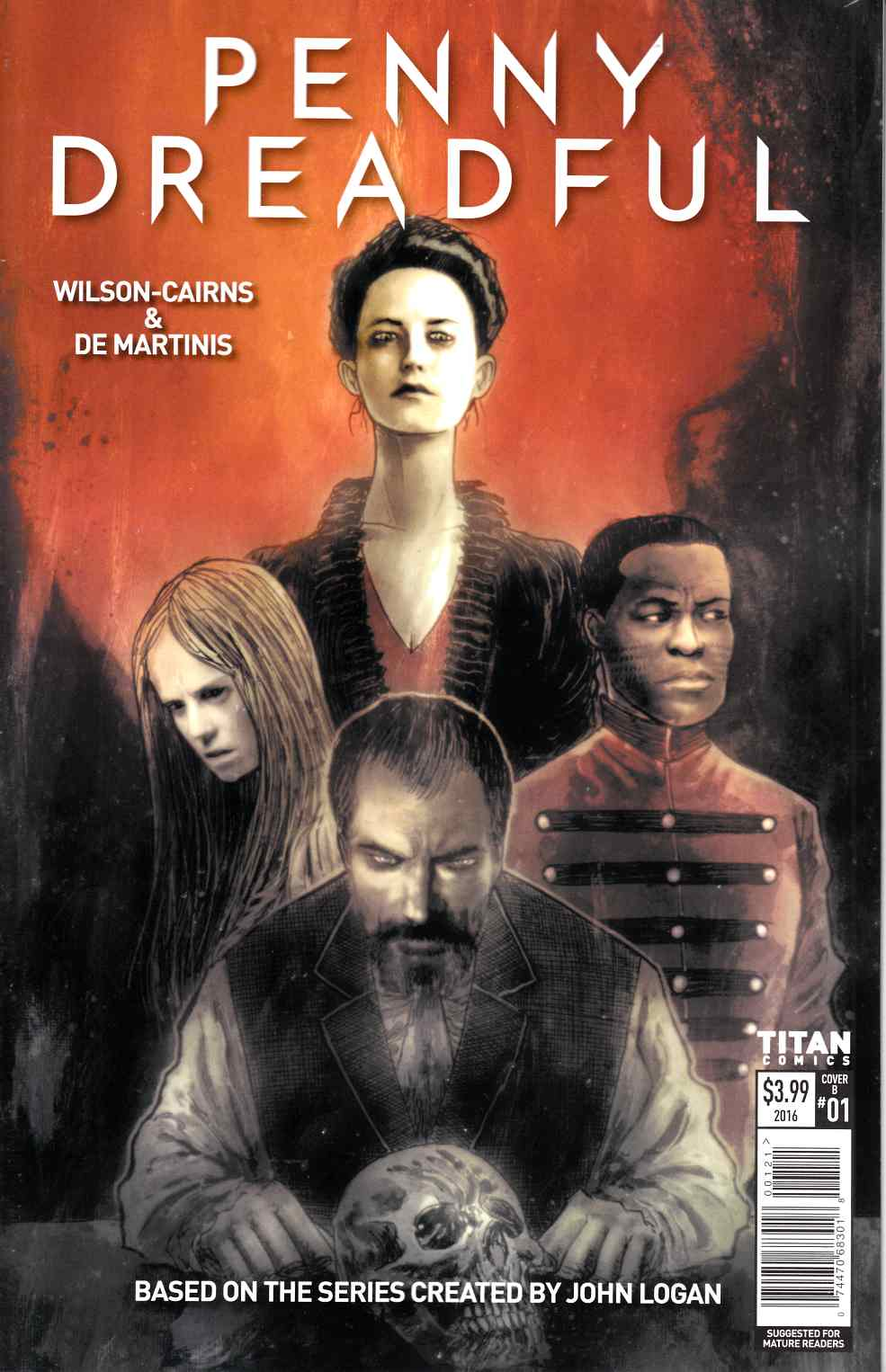Penny Dreadful #1 Cover B [Titan Comic]
