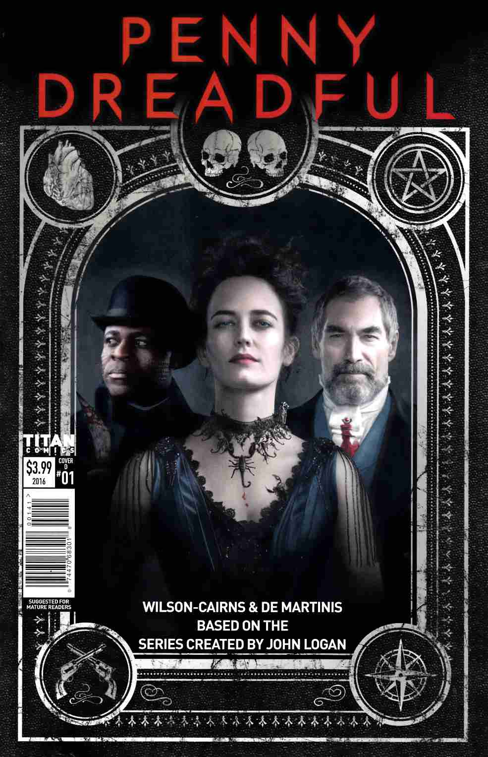 Penny Dreadful #1 Cover D [Titan Comic] THUMBNAIL
