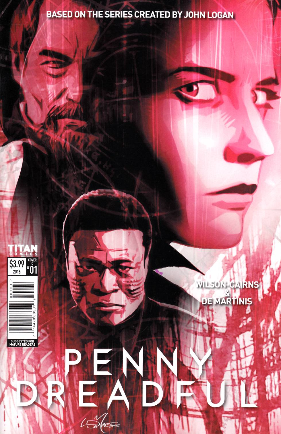 Penny Dreadful #1 Cover C [Titan Comic] THUMBNAIL