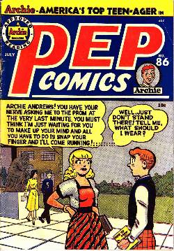 Pep Comics #86 [Archie Comic] LARGE
