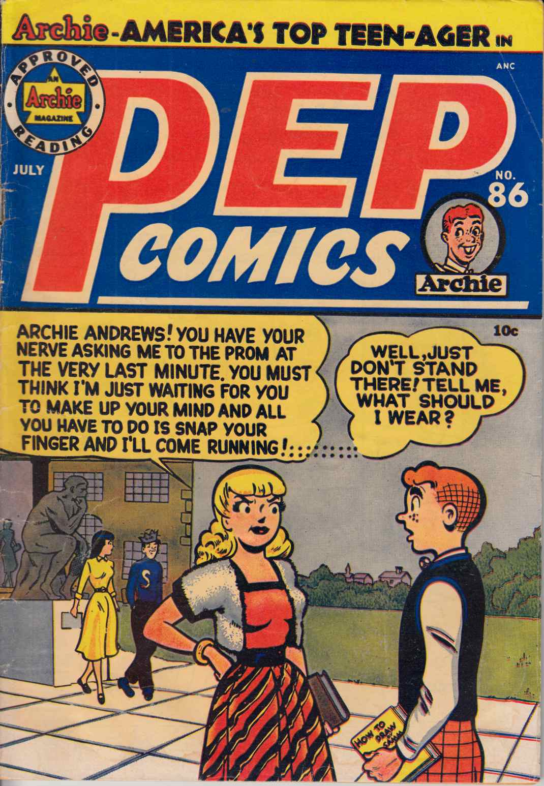 Pep Comics #86 Good Plus (2.5) [Archie Comic] LARGE