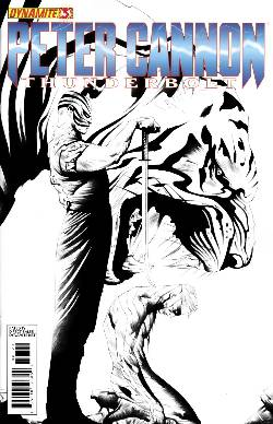 Peter Cannon Thunderbolt #3 Lee B&W Incentive Cover [Comic]